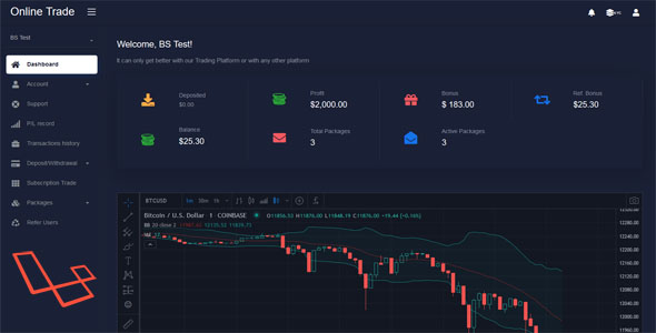 OnlineTrader – Trading and Investment Management System