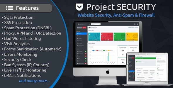 Project-SECURITY-4.3-Website-Security-Anti-Spam-Firewall